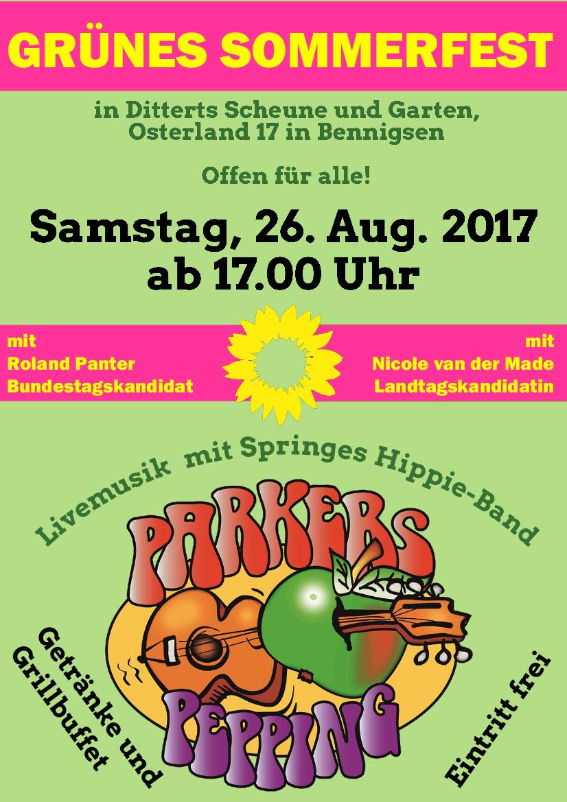 Grünes Sommerfest 2017