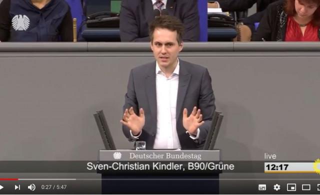 Sven Christian Kindler Mdb