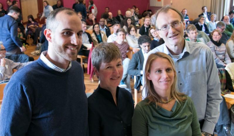 Belit Onay, Regine Asendorf, Maaret Westphely & Thomas Schremmer haben das Votum des grünen Regionsverbandes zur Listenaufstellung der niedersächsischen Grünen gewonnen.