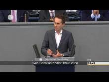 """Haushalt ohne Zukunft"" – Sven-Christian Kindler zum Haushalt 2018"